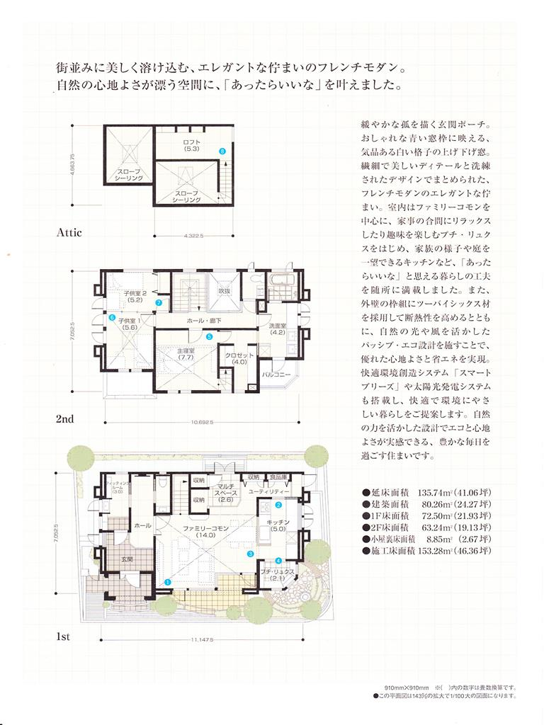 三井ホーム物件レポート 環七・加平ハウジングギャラリー